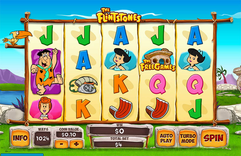 Flintstones Slot Machine Game